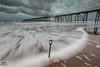 In memory of Dug (wardphotography1) Tags: spade gud seaside seascape water longexposure sky colour movement waves pier piers hartlepool steely interesting explore