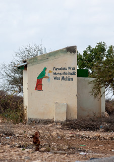 Mural painting to save water, Woqooyi Galbeed region, Hargeisa, Somaliland