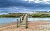 Bridge (nicklucas2) Tags: beachhut harbour christchurch sea sand pebble sunrise cloud bridge