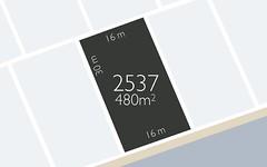 LOT 2537 Salvador Circuit, Colebee NSW