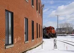 No CTC (Michael Berry Railfan) Tags: cn canadiannational eastsidecanalbank sthenri montreal quebec winter snow gp9 emd gmd cn7226