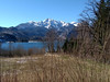 First real sunny spring day (aniko e) Tags: spring lake water snow ice mountains herzogstand kochel kochelsee bavaria bavarianprealps germany
