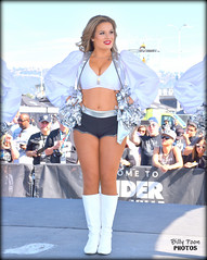 2017 Oakland Raiderette Morgan (billypoonphotos) Tags: oakland raiders raiderettes raiderette raider nation raidernation nfl football fabulous females cheerleaders cheerleading dance dancer dancers nikon nikkor d5500 mm lens billypoon billypoonphotos silver black photo picture photographer photography pretty girls ladies women squad team people coliseum sport grass field stadium crowd morgan chargers 2017 18140mm 18140