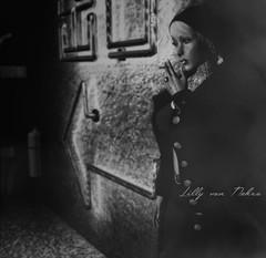 вeloved dαrĸɴeѕѕ (♣♦ Lilly von Nekro ♦♣) Tags: dark 3d art babes tattoo second sl secondlife smoke pose people piercing beauty virtual