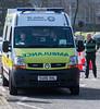 St John Ambulance Ambulance. (paulcunningham57) Tags: birmingham birminghamcitycentre uk stpatricksday parade stpatricksdayparade outdoor camphill highstreet stjohnambulance ambulance renault sunday11thmarch2018