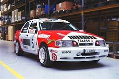 Ford Sierra Cosworth 4WD Gr. A (Analog World Thru My Lenses) Tags: nikonf65 nikkor50mmf18d fujicolor200 march 2018 classic cars hrsmp ford sierra cosworth 4wd gr a wrc gra worldrallychampionship groupa rally rallye bublewicz