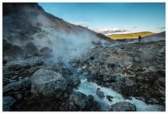 Krýsuvík, Iceland (Bigmob Dontwannastop) Tags: krýsuvík iceland nature volcano geothermal hot spring mud vapor valley hill sulfur sulphur