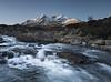 Sligachan (Simon Wootton) Tags: sligachan water waterfalls hills snowcappedmountains river bluesky cold winter freezing