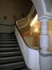 Treppenhaus (onnola) Tags: berlin deutschland germany gwb guesswhereberlin treppe stairs säule column geländer railing treppenhaus staircase synagoge fraenkelufer kottbusserufer synagogue jüdischegemeinde