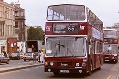 LOTHIAN REGIONAL TRANSPORT 330 E330MSG (bobbyblack51) Tags: lothian regional transport 330 e330msg leyland olympian alexander rh edinburgh 1995