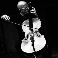 Tango with cello (Kol0mbo) Tags: tag please club m digital olympus monochrome stage artist theatre performance andré mergenthaler cello alto saxophone player born luxembourg concert moscow garden them bauman 07022015 music blackandwhite
