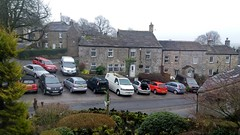 Grassington 15.3.2018 (1) (bebopalieuday) Tags: yorkshiredales upperwharfedale grassington buildings stone houses cars vehicles northyorkshire