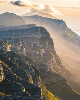 Right before sunset from Table Mountain!