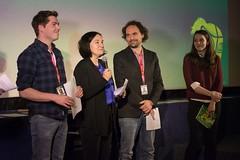 Die Regionalfenster Jury verkündet die Gewinner.