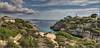 Menorca_Cala en Brut (Tatjana_2010) Tags: menorca cala calaenbrut meer himmel pflanzen boote panorama insel balearen