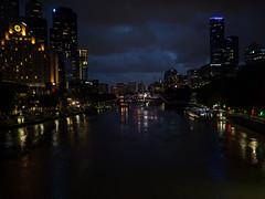 Good Night Yarra (Ross Major) Tags: melbourne yarra river city lights night olympus water 17mm