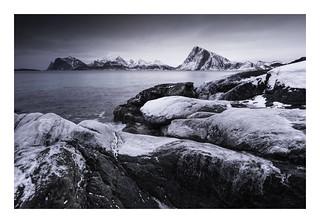 Storsandnessanden Lofoten Norway 28 February 2018
