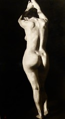 Unknown nude at the Ashmolean Oxford (Leshaines123) Tags: ashmolean nude photography monochrome figure contrast highlight vertical oxford university museum