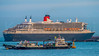 The Ocean Liner - 2 (KNL-17) Tags: ship oceanliner cunard rmsqueenmary2 panasonic lumixgm1 lumixgvario35100mmf456