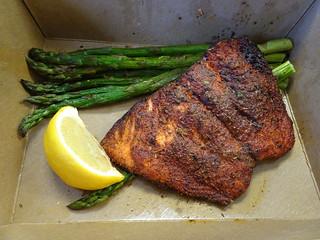 Cajun Oven Roasted Salmon
