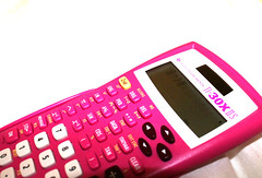 math is fun (PIKIERA) Tags: math pink calculator bed blanket quild quilt texas high key highkey white smile