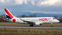 Embraer ERJ-170LR F-HBXO HOP! (William Musculus) Tags: basel mulhouse freiburg airport euroairport spotting bsl mlh eap lfsb fhbxo hop embraer erj170lr erj170100 lr