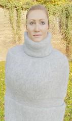 Fluffydoll118 (Triss Meredith) Tags: misstriss fluffydoll wool angora mohair scarf turtleneck sweater