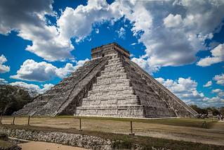 The Temple of Kukulcan, El Castillo, Chichen Itza