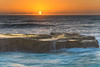 Sunrise Seascape (Merrillie) Tags: daybreak sunrise northavoca nature water rocks centralcoast morning newsouthwales waves earlymorning nsw sea avocabeach ocean rocky landscape northavocabeach coastal waterscape sky seascape australia coast dawn outdoors