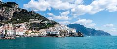 Amalfi (drasphotography) Tags: amalfi amalficoast coast costiera amalfitana ocean sea mare meer mittelmeer beautiful sky italia italy italien clouds nuvole wolken himmel cielo drasphotography travel travelphotography reise reisefotografie d810 landscape landschaft