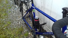Hewitt Cheviot Touring Bike Flamboyant Blue (Large) (drbw120367) Tags: hewitt cheviot large classic retro british steel vintage modern frame flamboyant blue silver black bike bicycle tourer touring cycle 700c 28mm m5 10sp avid shimano xtr xt duraace slbs78 csm771 chg980 pda530 rdm972sgs fdm971 fcm970 blr600 deda oversize zero100 bars 46cm spacers 272mm thomson elite x4 campagnolo seatpin nos blackburn racks cages brooks b17 special paul components fizik hudz sram kcnc bolts dt swiss tk540 continental hardshell tyres 970hub 780hub qr old skool rims chainset