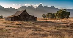 T. A. Moulton Barn (59roadking - Jim Johnston) Tags: ifttt 500px landscape rural scene valley hill farmhouse mountain range peak scenery pasture scenic moulton barn farm grand teton