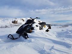 Sledstore? It's stored here (GeirB,) Tags: varanger vadsø vadsoe vadso vinter finnmark friskifinnmark fun østfinnmark outdoor uteliv snow arctic 70north winter winterwonderland white norway nordnorge northernnorway snjo snø mars snowmobile