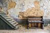 Piano (AndreJoosse) Tags: urbex urban exploring abandoned decay derelict old piano grime nikon