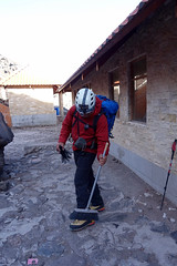 Cleaning up at Cotopaxi Refuge (*Andrea B) Tags: cotopaxi cotopaxivolcano volcano volcan volcancotopaxi ecuador december 2017 december2017 christmas glacier national nationalpark parque alpine climb climbing mountaineering mo