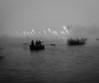 Ganga | Varanasi 2017. (Vijayaraj PS) Tags: nikon varanasi kasi india heritage ganga ganges water river incredibleindia outdoor ghats asia travel boat migration blackandwhite monochrome background grey grains underexposed
