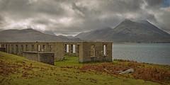 Industrial past.. (Harleynik Rides Again.) Tags: mine isleofraasay isleofskye abandoned mountains cloudporn weather westernisles westcoast scotland harleynikridesagain nikondf