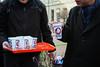 MKKP Tejosztás 2018.01.27._credit_gamanzsuzsa (gamanzsuzsa) Tags: mkkp magyarkétfarkúkutyapárt kétfarkúkutyapárt twotailedogparty hungarianjokeparty hungary budapest streetart 2018elections milkdistribution milk