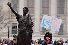 March For Our Lives: Madison (pchgorman) Tags: marchforourlives madison danecounty wisconsin march protests people forward