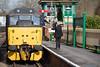 A token exchange (daveymills31294) Tags: railfreight construction 311 class 31 31271 kingscote bluebell railway spring 2018 diesel gala