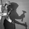 Al Wahba Camel Race track - Abu Dhabi, UAE (M. Khatib) Tags: alwathba abudhabi uae enirates emirates camel camelrace desert arabia shadow worker beard headdress monochrome blackandwhite tourism travel travelphotography hammer