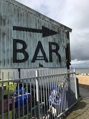 To the Bar! (beforeyoureyes) Tags: seaside beach kent whitstable bar