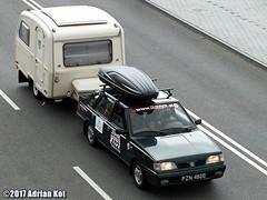 FSO Polonez Atu Plus + Niewiadów N126 (Adrian Kot) Tags: fso polonez atu plus niewiadów n126