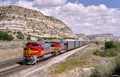 ATSF 928 West at Lupton, NM (thechief500) Tags: atsf bnsf gallupsubdivision imacon949scan railroads nm newmexico