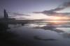 Purple Haze (Dáire Cronin) Tags: lehinch dough castle county clare sunrise lake morning fog