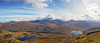 Snowdon from Y Garn, Nantle Ridge, Snowdonia (Explored 6 April) (Miche & Jon Rousell) Tags: wales northwales snowdonia snowdon ygarn nantleridge hike trek sun blue clouds pano panorama