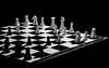Week #18, Interesting Plainness (lleon1126) Tags: chess game chessgame photochallenge blackandwhite trevorcarpenterphotochallenge blackandwhiteplainness boardgames