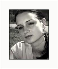 2008 My last image of an analog camera (piontrhouseselski) Tags: cz moravia summer girl bw analog minolta
