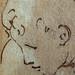 PRIMATICE - Triptyque, Deux Barques avec Cinq Rameurs (drawing, dessin, disegno-Louvre INV8576) - Detail 44
