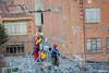 Despues de la entrega del cable guia, dron regresa para traer el siguiente cable. (Max Glaser) Tags: cablecar teleferico dron bolivia lapaz southamerica gondola ropeway urbantransport transportation